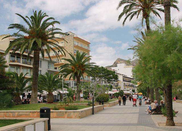 Port de Pollensa Promenade