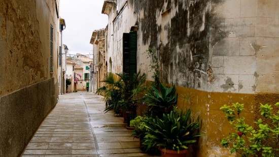 Walk around Alcudia old town