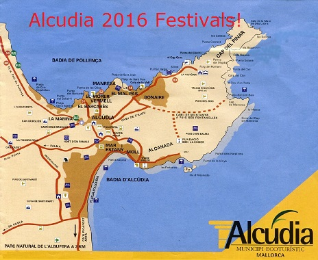 Festivals, fairs near Alcudia in 2016